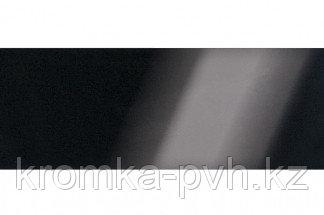 Черный глянец ПВХ кромка