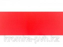 Красный ПВХ кромка
