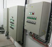 Шкаф автоматики вентиляции с водяным нагревателем и охладителем