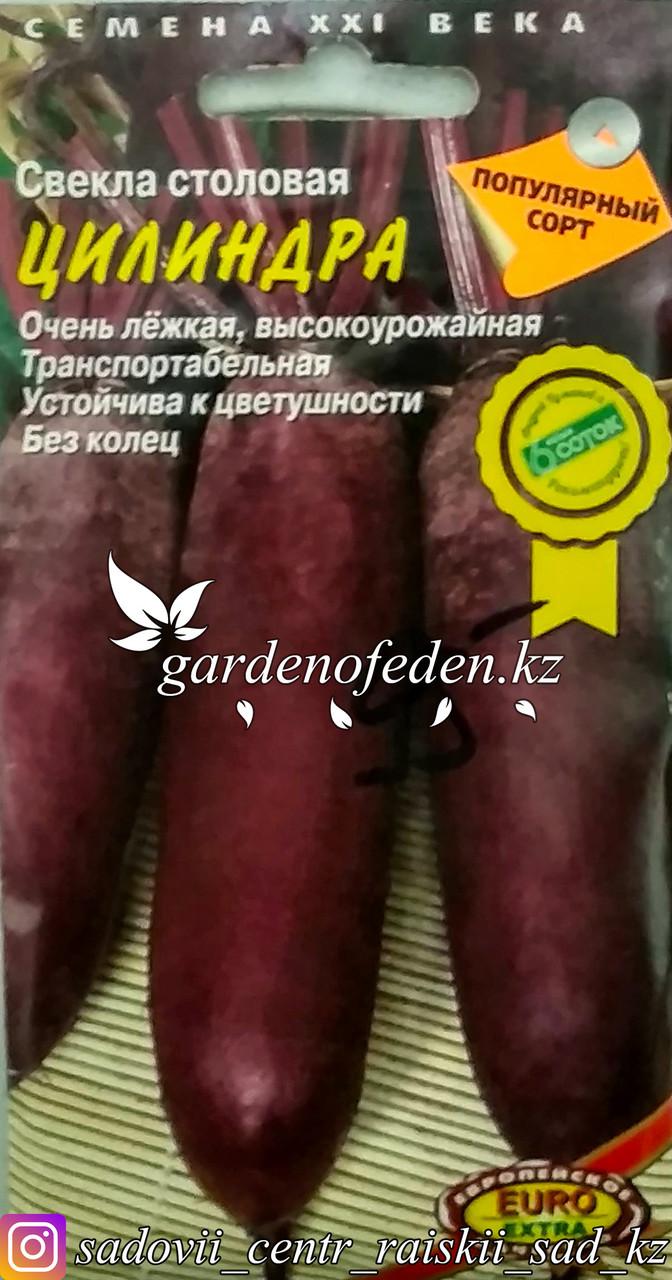 """Семена пакетированные Euro Extra. Свекла столовая """"Цилиндра"""""""