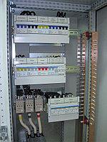 Шкаф автоматики вентиляции с электрическим нагревателем и водяным охладителем