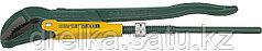 """Ключ KRAFTOOL трубный, рычажный, тип """"PANZER-V"""", изогнутые губки, цельнокованный, Cr-V сталь, 2""""/580мм"""