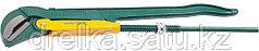 """Ключ KRAFTOOL трубный, рычажный, тип """"PANZER-V"""", изогнутые губки, цельнокованный, Cr-V сталь, 3""""/670мм"""