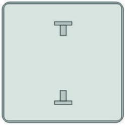 Заготовка для дорожных знаков со сплошной отбортовкой по всему периметру основы