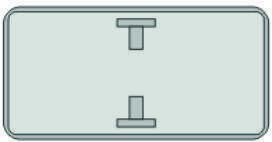 Жол белгілеріне арналған дайындама/ Заготовка для дорожных знаков
