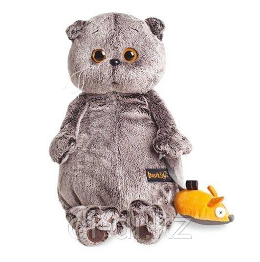 Басик и Ко Мягкая игрушка Басик и мышка (25 см)