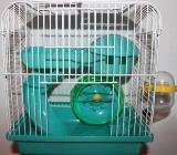 Клетка для хомяков №157, размер 23*17*h24,5см