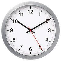 Часы настенные ЧАЛЛА серебристый 28 см ИКЕА, IKEA
