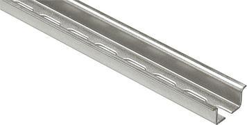 Симметричная DIN-рейка, длина 2 м, глубина 15 мм, оцинкованная