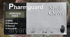 Перчатки нитриловые, смотровые, неопудренные (Черные)
