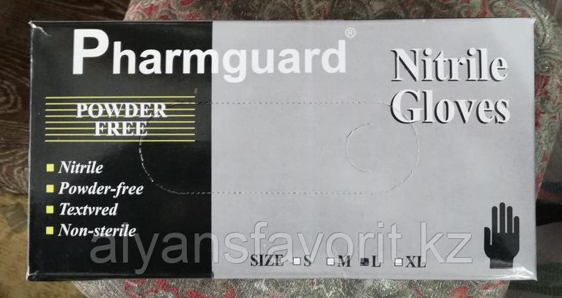 Перчатки нитриловые, смотровые, неопудренные (Черные), фото 2