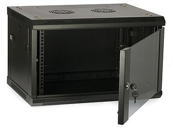 ITK Шкаф LINEA W 12U 600x450 мм дверь стекло, RAL9005