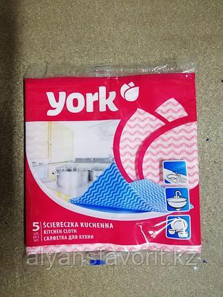 Салфетки для кухни из микрофибры York, 5 штук, фото 2