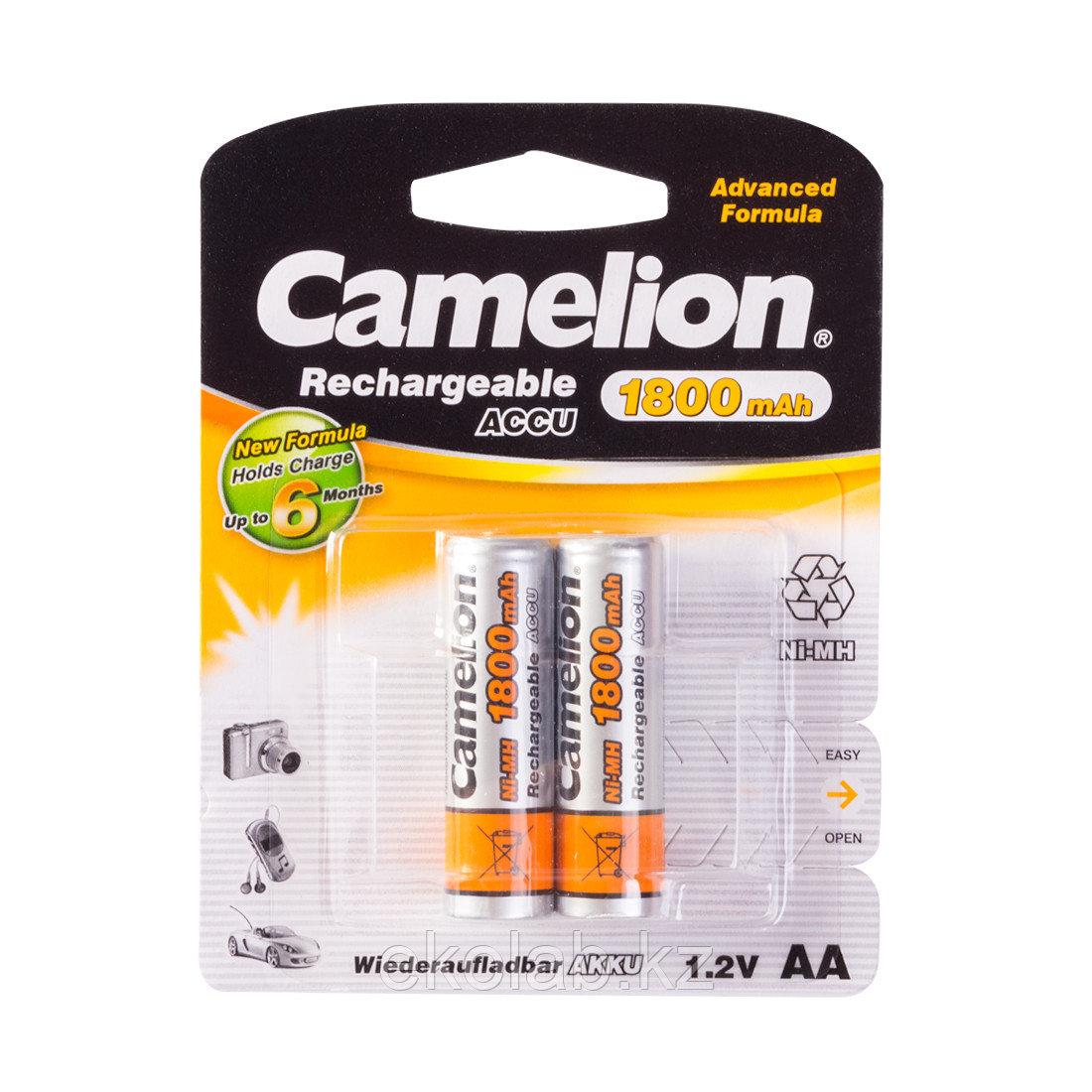 Аккумулятор, CAMELION, NH-AA1800BP2