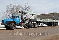 Седельный тягач УРАЛ-4320 с КМУ ИФ-300С, фото 1