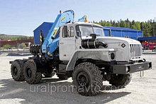 Седельный тягач УРАЛ-4320 с КМУ ИМ-150