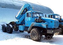Седельный тягач УРАЛ-4320 с КМУ ИМ-240