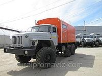 Паровая промысловая установка ППУ 1600/100 УРАЛ-4320