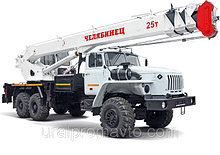 """Автокран КС-55732 """"Челябинец"""" УРАЛ-4320"""
