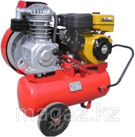 Воздушный компрессор с бензиновым двигателем HD0215