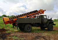 Машина бурильная шнековая МБШ-519 УРАЛ-43206, фото 1