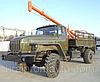 Бурильно-крановая машина БКМ-515/БКМ-515А УРАЛ-43206