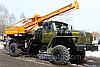 Поворотная бурильно-крановая машина ПБКМ-511 УРАЛ-43206