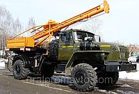 Поворотная бурильно-крановая машина ПБКМ-511 УРАЛ-43206, фото 1