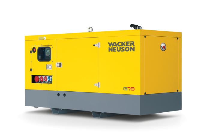 Мобильный генератор Wacker Neuson G 43