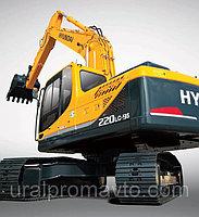 Экскаватор гусеничный Hyundai R220LC-9S и арктический вариант R220LC-9SH, фото 1