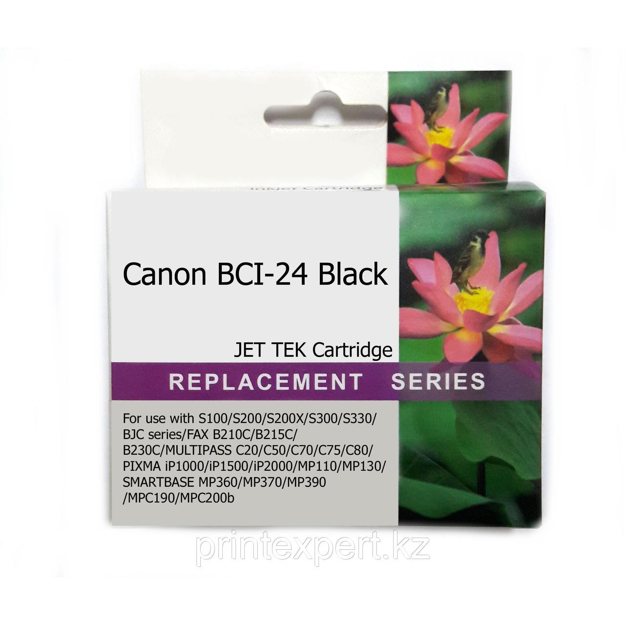 Картридж Canon BCI-24 Black JET TEK