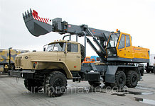 Экскаватор-планировщик EW-25 УРАЛ-4320