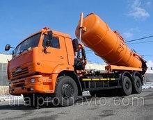 Автоцистерна илососная АКНС-15 КАМАЗ-6520