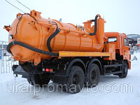 Автоцистерна илососная АКНС-10 КАМАЗ-65115, фото 1