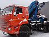 Седельный тягач с КМУ ИМ-240-04 КАМАЗ 43118
