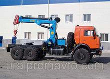 Седельный тягач с КМУ ИМ-240А (тросовый) КАМАЗ 43118