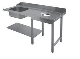 Стол д/грязной посуды Apach 1500ММ 75442