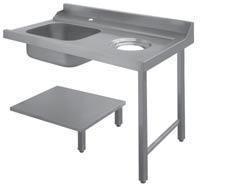 Стол д/грязной посуды Apach 1200ММ 80208