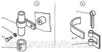 Крепление топливопроводов ДЗ-98В9.31