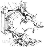 ДЗ-98В.33.00.000-05 Система охлаждения и разогрева двигателя