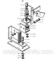Крепление радиатора ДЗ-98