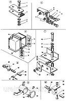 Крепление элементов системы охлаждения ДЗ-98