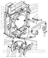 Детали системы охлаждения ДЗ-98В7