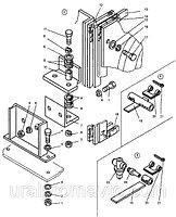 Крепление радиатора ДЗ-98В7
