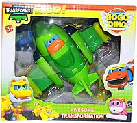 DT- 333 Мультик команда Dino Gogo Трансформер разные  20*18см