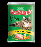 Clan Family консервы для кошек (паштет из курицы) 415 гр.
