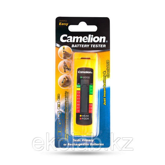 Тестер заряда батарей CAMELION BT-0506