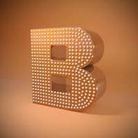 Пиксельные буквы / Буквы с открытой подсветкой