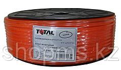 Шланг воздушный д.5мм, 100 метров, PE TOTAL TOOLS (оранжевый)