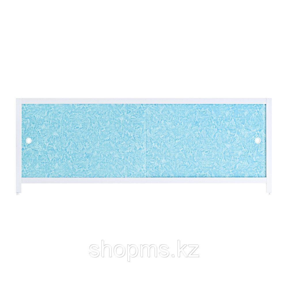 """Экран под ванну """"Ультра легкий"""" 1,48 м """"Голубой иней"""" ***"""